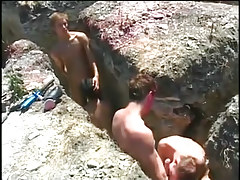 Sexy twink dia astonishingly in scenic positions in 1 video