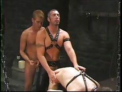 Farmer anal humps his two poor captives in 4 video